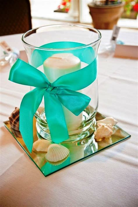 best 25 teal centerpieces ideas on teal
