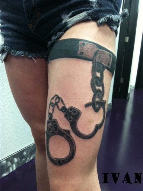 handcuff tattoo 55 best images about on ideas