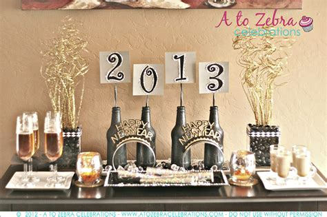new year party decoration ideas at home new year s eve party ideas a to zebra celebrations