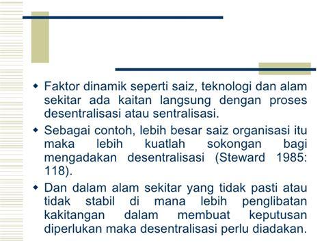 faktor membuat struktur organisasi pengurusan pembinaan unit 4