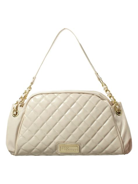 Quilted Chain Bag by Norman Quilted Chain Handle Bag In White