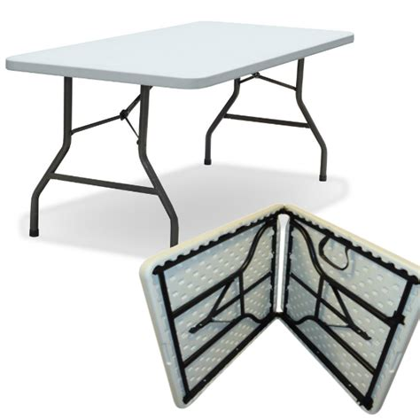 5 Ft Folding Table 5ft Folding Tables 5ft Plastic Tables 5ft Fold In Half Trestle Table 76 99 Shop