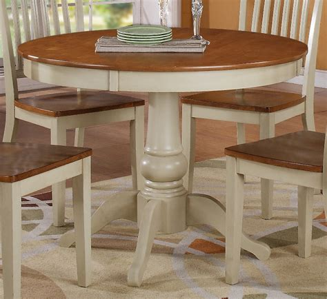 Round White Dining Room Table by Al Fresco Iii 3 Piece 42 Inch Round Drop Leaf Dining Room
