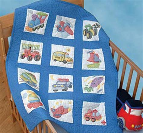 Dempsey Cross Stitch Quilt Blocks by Dempsey Sted Cross Stitch Kit 12 Nursery Quilt