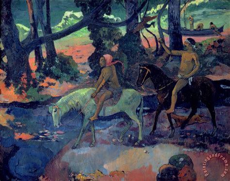 painting escape paul gauguin the escape painting the escape print for sale