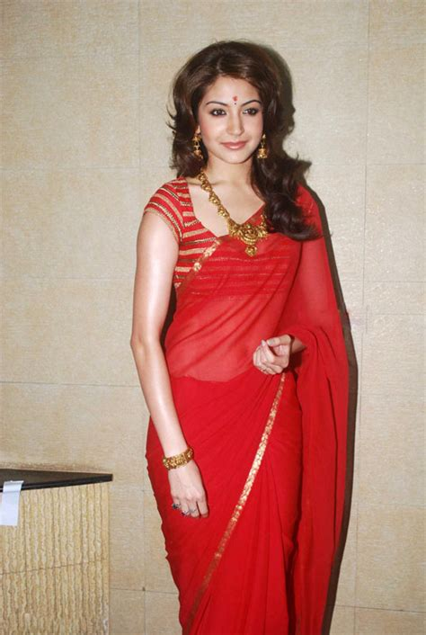 Sharma Designs The Of A - anushka sharma in saree beautiful indian