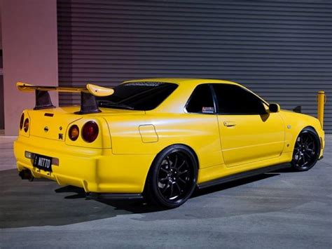 nissan yellow yellow 1100whp nissan gtr 34 skyline dpccars