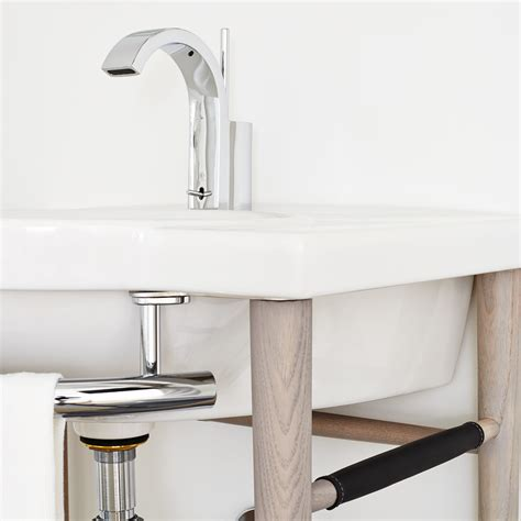 bathroom sink consoles wood lowell 26 quot wood console bathroom sink by dxv