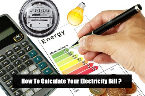 calculate electricity bill how to calculate your electricity bill simple calculation