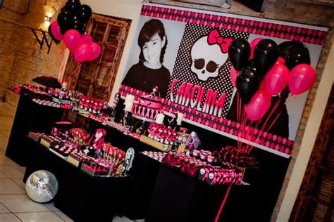 monster high printable party decorations kara s party ideas monster high 8th birthday party via