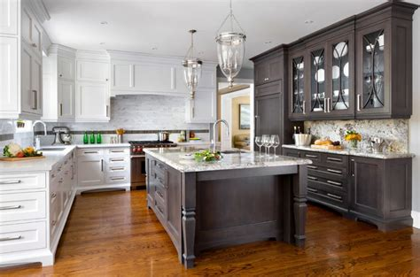 cabinets for the kitchen should kitchen cabinets match the hardwood floors