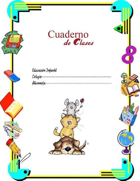 imagenes escolares para imprimir gratis imagenes infantiles para caratulas carpetas cuadernos