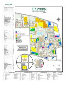 Eastern Michigan Campus Map by Eastern Michigan University Maplets