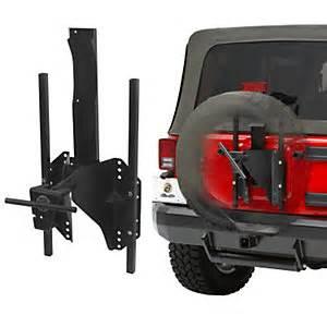 Jeep Jk Spare Tire Carrier 2007 2015 Jeep Wrangler Jk Spare Tire Carrier Bestop