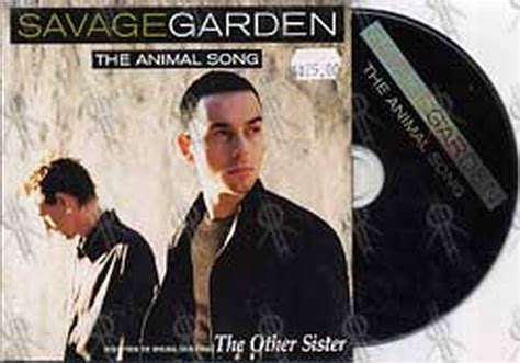 Songs By Savage Garden by Savage Garden The Animal Song Cd Single Ep