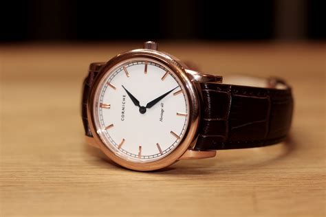 corniche watches review corniche heritage 40 review the mitchelli modern