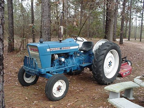 1971 Ford 4000 Tractor | antique tractors 1971 ford 4000 picture