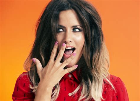 caroline flack dip dyed hair goodwill to dior