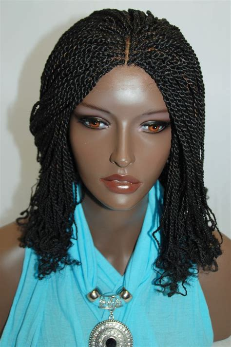 new style twist marley 1b braided synthetic lace front new style twist havana full hand braided lace front wigs
