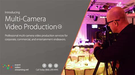 Live Multi Camera Production   Event Video Streaming