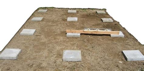 Simple Shed Foundation by Shed Foundation Diy Landscapes Gardens
