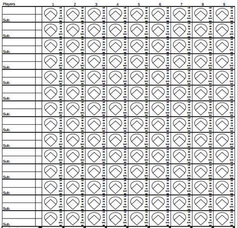 search results for printable baseball score sheets pdf