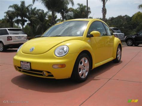2002 Volkswagen New Beetle Gls by 2002 Yellow Volkswagen New Beetle Gls Coupe 30816215