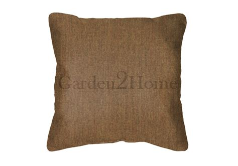 Canvas Pillows by Throw Pillow In Sunbrella Canvas Teak 5488