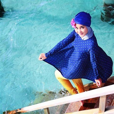 Tpj9ch Atasan Motif Atasan Ketat Atasan Biru Simple Tops Blue Tops berenang untuk kehidupan baju renang dian pelangi