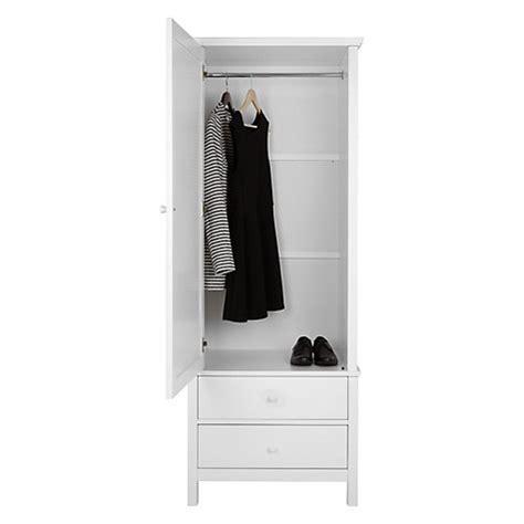 Buy White Wardrobe Buy Lewis Wilton 1 Door Wardrobe White Lewis