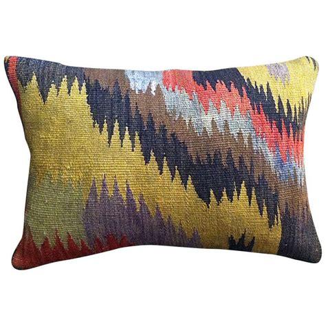 Turkish Throw Pillows turkish kilim throw pillow at 1stdibs