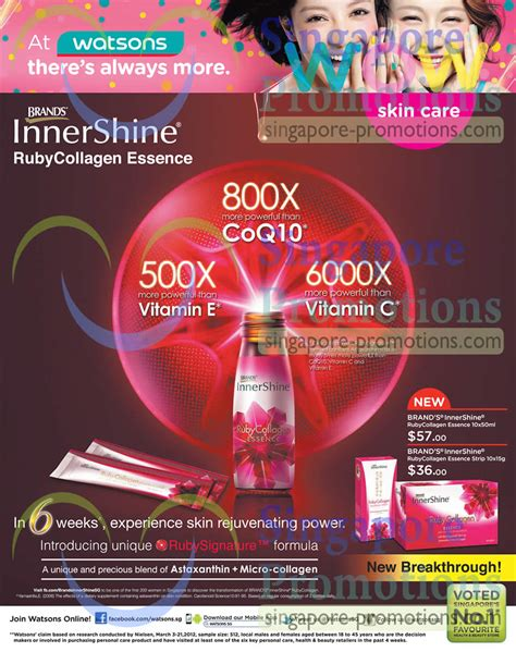 Innershine Ruby Collagen brands innershine ruby collagen essence 187 watsons personal