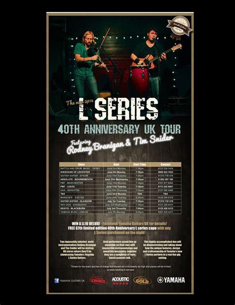 Tour Announced by A L Series 40th Anniversary Tour Dates Announced