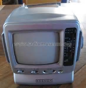 Tv Radio television noir blanc avec radio am fm tv radio keenox brand