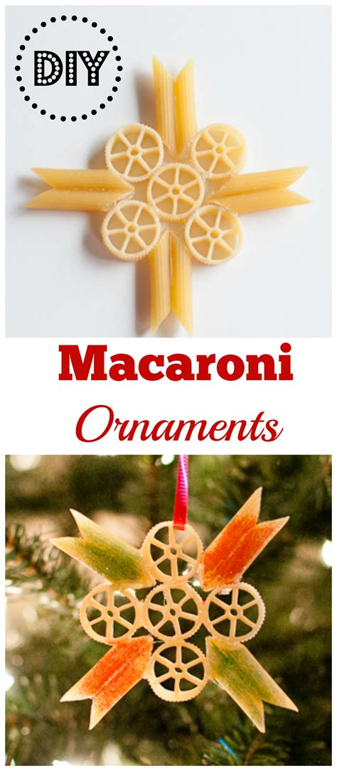 the quinntessential mommy christmas craft diy macaroni