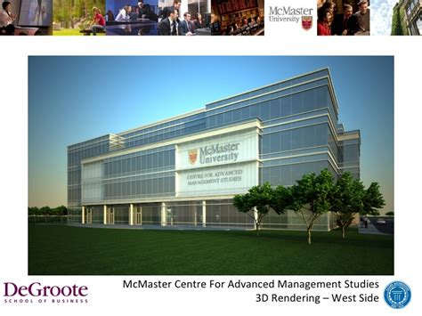 Degroote Mba Specializations by Eheatlh Khaled Hassanein