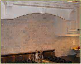 marble subway tile backsplash kitchen modern white gray from