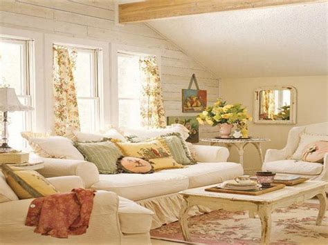 Country Cottage Living Room Furniture Decorations How To Apply Cottage Country Decor For Your House Cottage Style Curtains Cottage