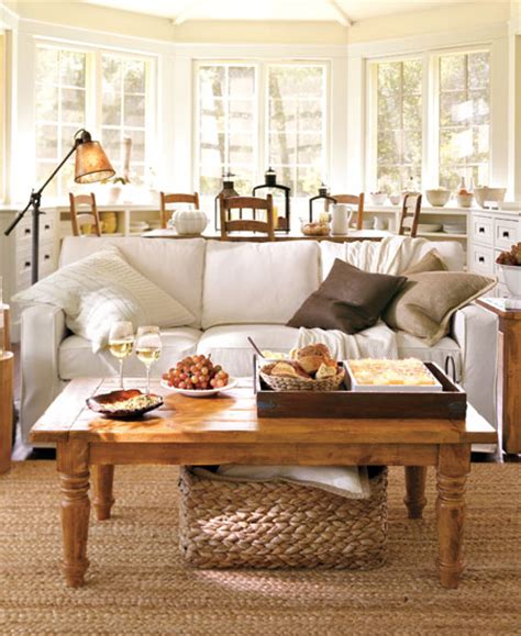 pottery barn living room decorating ideas romantic living room inspiration innerpacific