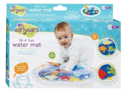 Water Pat Mat For Babies by Earlyears Fill N Water Play Mat Baby Toddler Baby Toys
