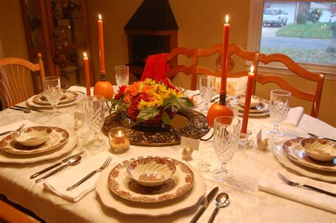 setting a table for thanksgiving dinner the knife is always right how to set the