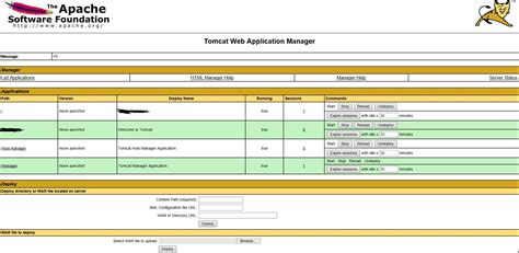 tomcat console accessing the tomcat manager console on azure java webapp