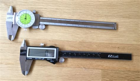 woodworking calipers tool review comparing a fractional caliper to a