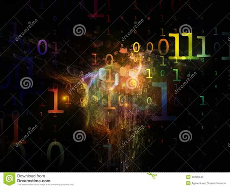 taking a stock of space lighting and design in your computing numbers stock photo image 40180044