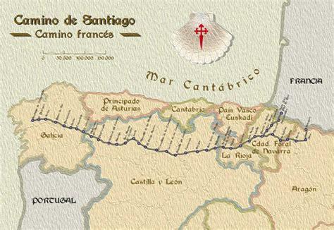 camino de santiago mappa walking the camino de santiago backroads