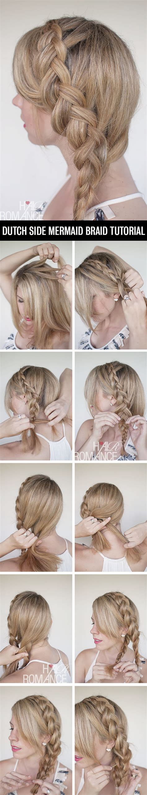 side braids step by step for kids diy side hairstyle step by step tutorials diy ideas tips