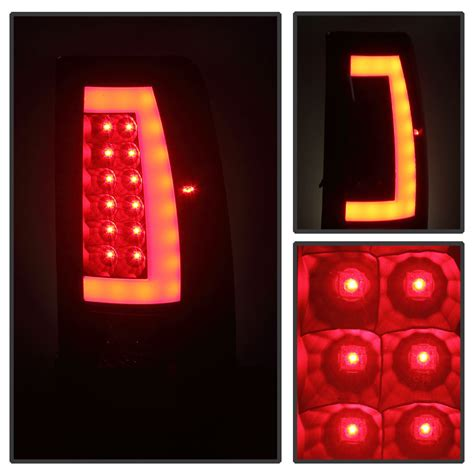led lights for gmc sierra 03 06 chevy silverado gmc sierra led tube tail lights