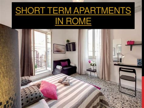 short term appartments ppt rome apartments for rent monthly powerpoint