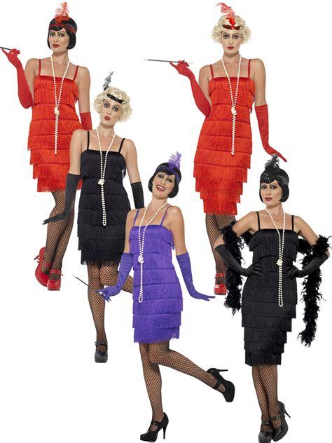 great gatsby themed fancy dress ladies 1920s flapper costume adults gatsby fancy dress