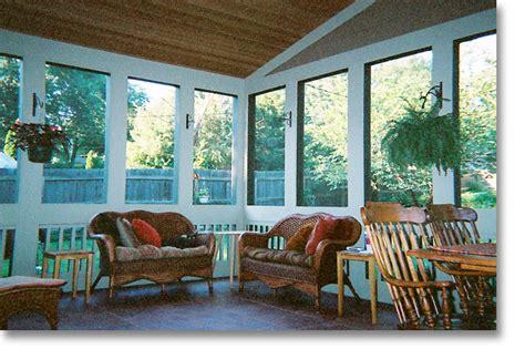 Enclosed Porch Pictures homeworks inc